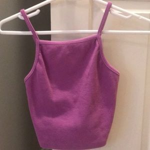 Forever 21 Purple Tank top and Crop top